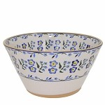 Forget Me Not Angled Bowl