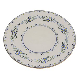 Forget Me Not Shallow Dish