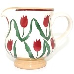 Red Tulip Small Jug