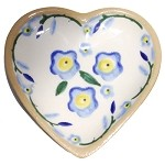 Forget Me Not Tiny Heart Plate