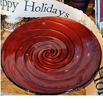 IVV Red Swirl Bowl, Large