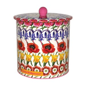 Flowers Biscuit Barrel