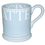 Pale Blue Toast 1/2 Pint Mug