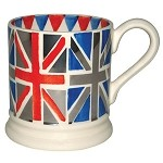 Union Jack Platinum 1/2 Pint Mug