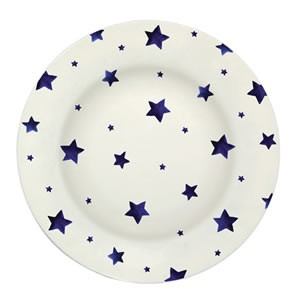 Starry Skies Melamine Dinner Plate