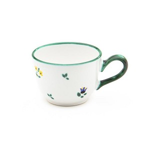 Alpine Flowers Classic Coffee Cup  and  Saucer