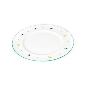 Alpine Flowers Gourmet Dinner Plate 10.6""
