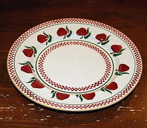 SECOND Apple Dinner Plate