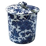 Blue Arden Covered Jam Pot