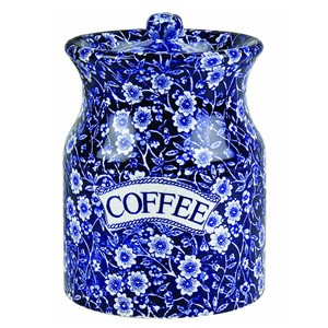 Blue Calico Coffee Canister