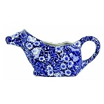 Blue Calico Cow Creamer