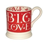 Big Love RED 1/2 Pint Mug