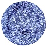 Blue Calico Dinner Plate