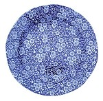 Blue Calico Lunch Plate