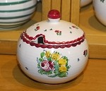 Biedermeier Lidded Sugar Bowl