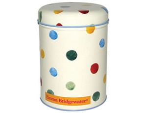 Polka Dot Round Caddy
