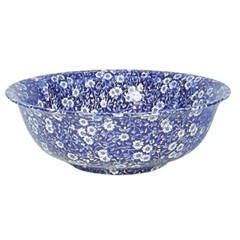 Blue Calico Fruit Bowl