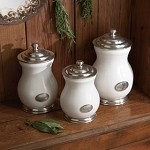Arte Italica Tuscan Canister Set
