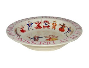 Dancing Mice Baby Bowl
