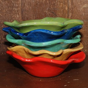 Floral Form Dipping Bowl