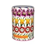 Flowers Round Caddy