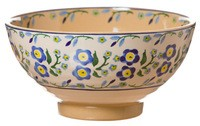 Forget Me Not Medium Bowl