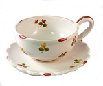 Mille Fleurs Coffee Cup  and  Saucer