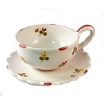 Mille Fleurs Coffee Cup & Saucer