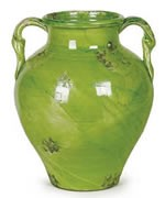 Antica Firenze Olive Jar - Green