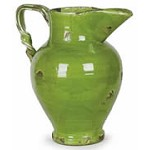 Antica Firenze Pellicano Pitcher - Green