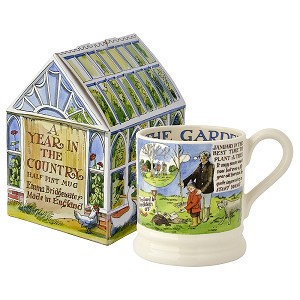 Year in the Country Gardener 1/2 Pint Mug Boxed
