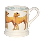 Yellow Labrador 1/2 Pint Mug RETIRED 2012