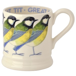 Great Tit 1/2 Pint Mug