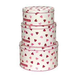 Hearts Cake Tins - Set of Three