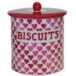 Hearts Biscuit Barrel