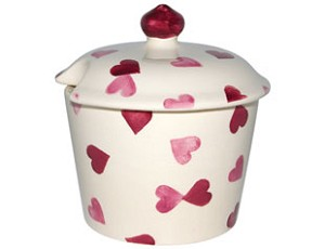 Hearts Sugar Pot