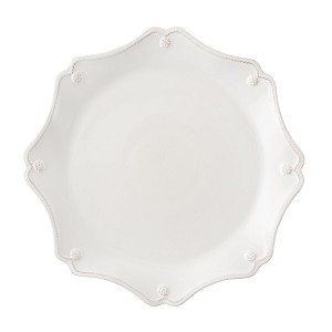 Berry & Thread Scallop Charger Plate