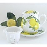 Sorrento Lemon Tea mug w/Infuser