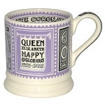 Coronation Litho 1/2 Pint Mug