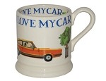 I Love My Capri 1/2 Pint Mug