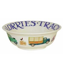 Men at Work Cereal Bowl