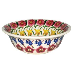 Flowers Cereal Bowl