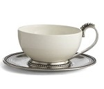 Arte Italica Perlina Cup  and  Saucer