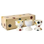 Polka Dot Mix Set of 3 Egg Cups