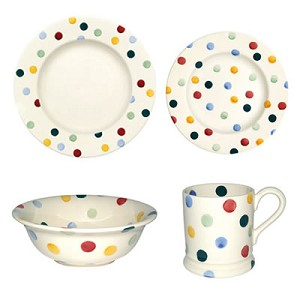Polka Dot Place Setting