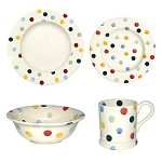 Emma Bridgewataer Polka Dot Place Setting
