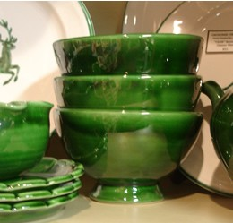 Pichon Uzes French Bowl - Green