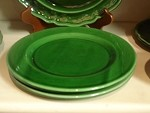 Pichon Uzes Lunch Plate - Green