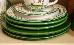 Pichon Uzes Dinner Plate - Green