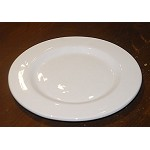 Pichon Uzes Lunch Plate, White